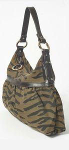 Fendi Bags - Auth Large FENDI chef bag zebra print